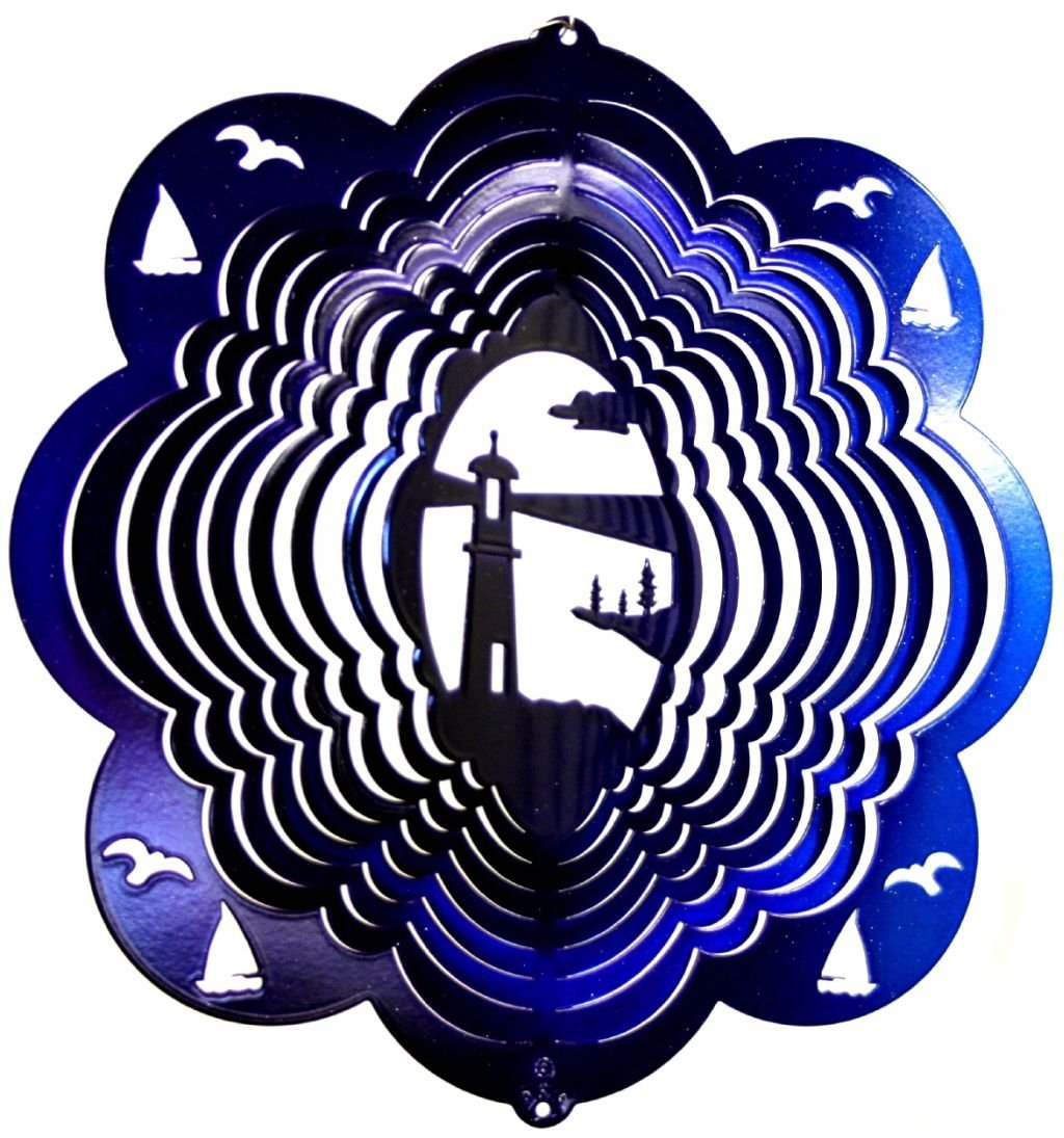 Lighthouse Wind Spinner