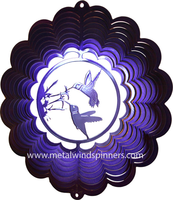 praying hands wind spinner - printed